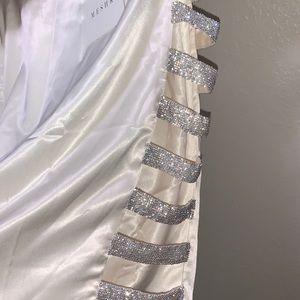 Skirt from meshki